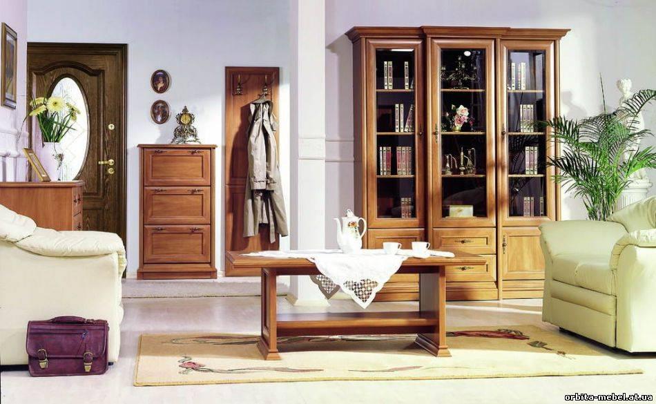 Классическая наборная модульная мебель Kent (Кент), производство мебельной